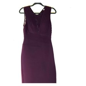 Calvin Klein Purple Dress!